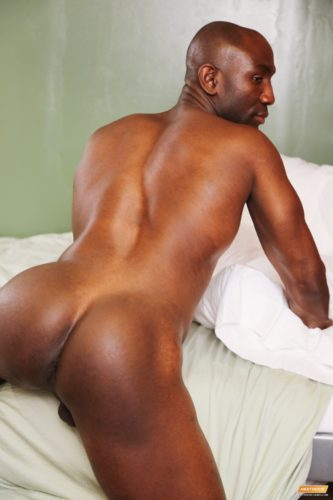 Butt nude bubble black men